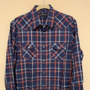 BR - Pearl Snap Button Down